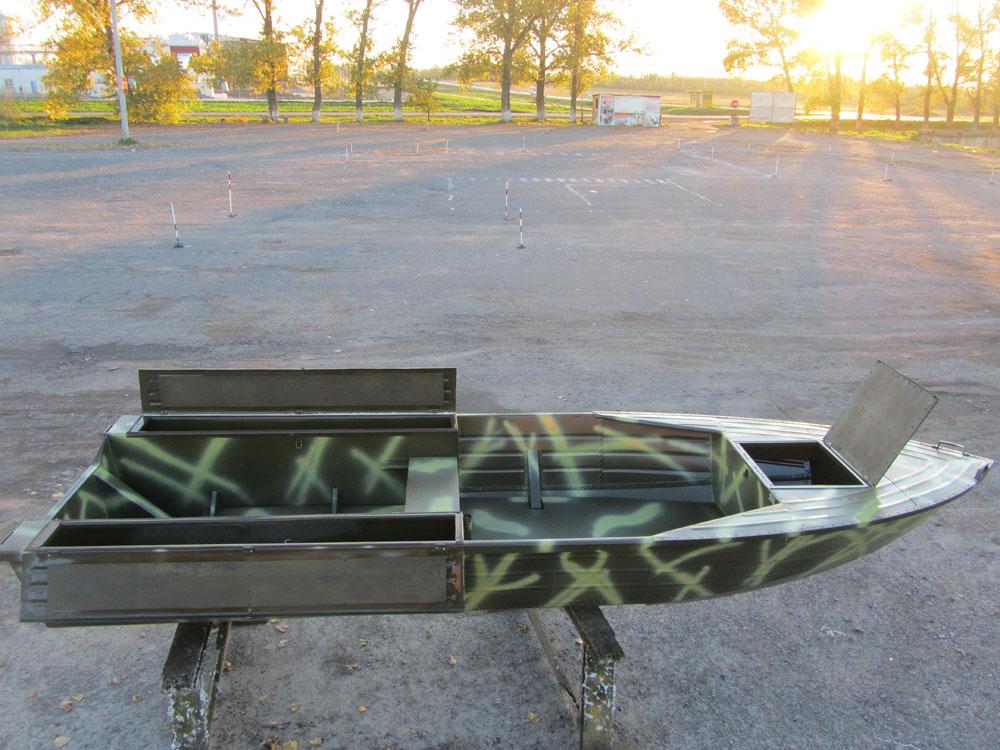 производство лодок охотник